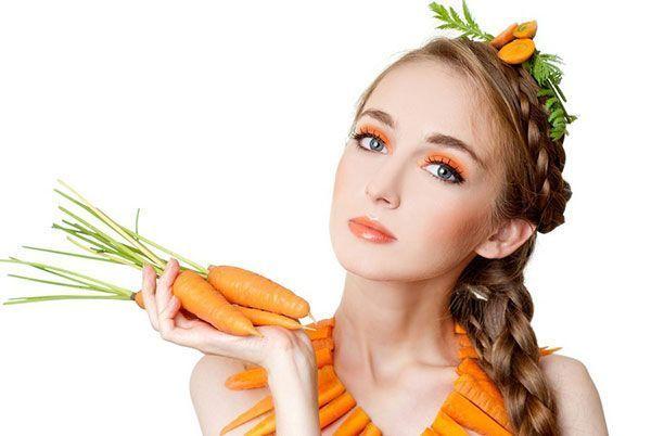 морковь для кожи лица