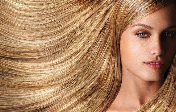 Наращивание волос - густые и длинные волосы