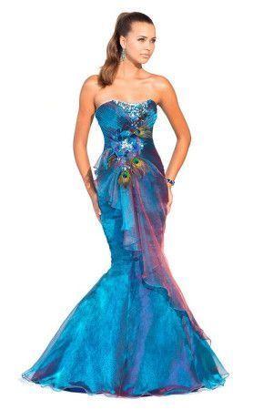 Платье расцветкой как бабочка