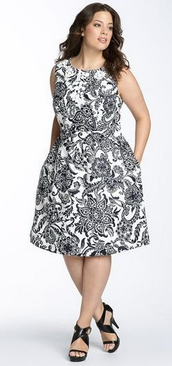 Šaty pro obézní