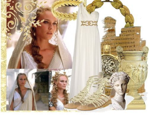 šaty v řeckém stylu