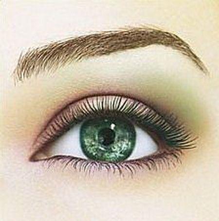 Shadow zelene oči
