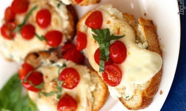 Помидоры с сыром - вкусно, быстро, полезно!