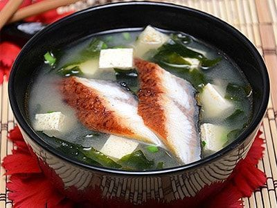 Суп из рыбы в японском стиле