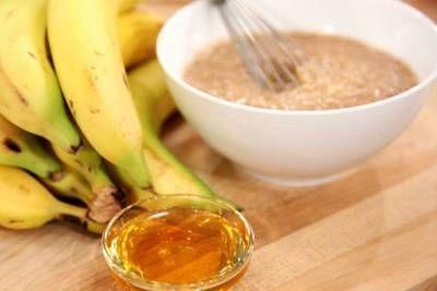Ингредиенты для банановой маски