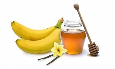 Банан и мед