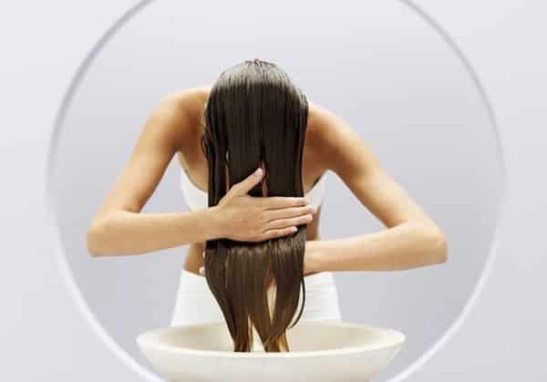 Полоскание волос
