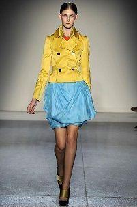 Iz onoga što nositi žuti kabanicu za žene