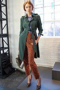 Iz onoga što nositi ženske kaput zelene