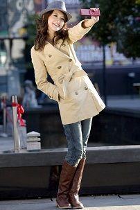 Iz onoga što nositi ženske kaput bež