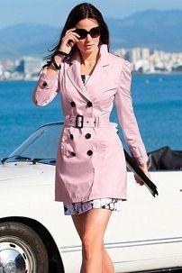 Iz onoga što nositi ružičaste kabanica