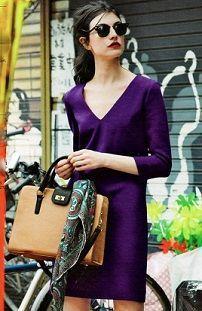 Платье-футляр с портфелем