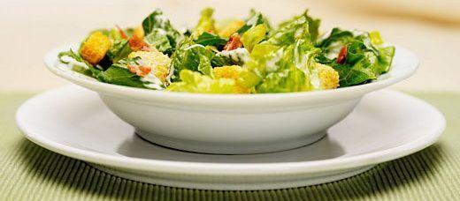 Салат цезарь - готовим дома!