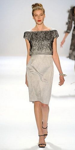 siva haljina