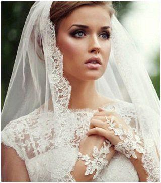 Важный свадебный атрибут — фата невесты. Фото с сайта rivne1.tv
