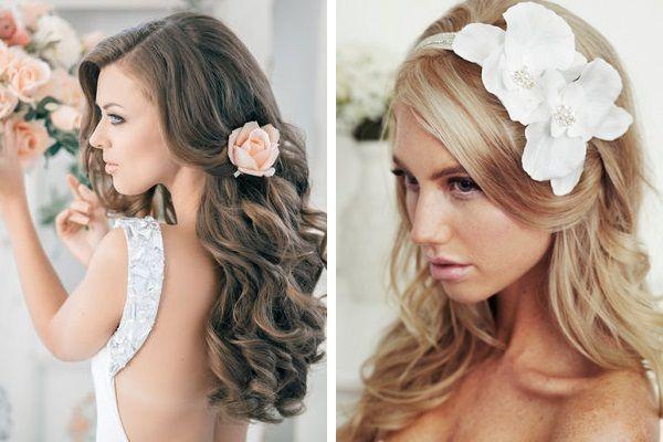 Цветы в волосах — нежно. Фото с сайта differed.ru