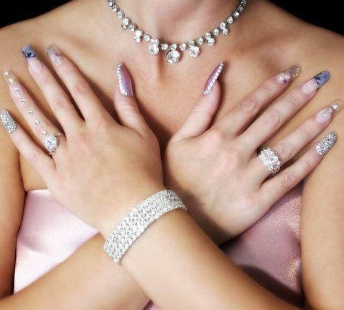 Свадебные ногти - 50 лучших вариантов