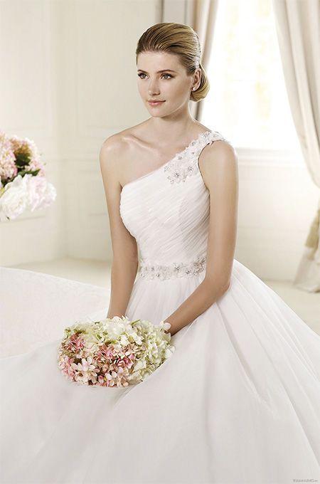 Фото: свадебные платья в стиле ампир