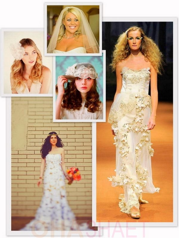 Свадебные прически 2013 - 200 вариантов на любой вкус