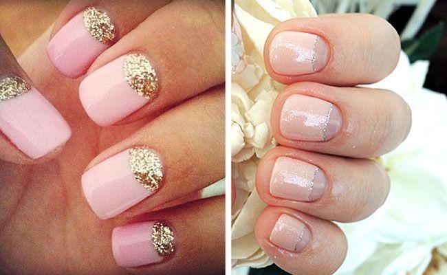 vjenčanje moon manikir kratkim noktima