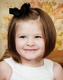 девочка короткие волосы