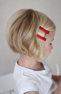 девочка, короткие волосы с начесом