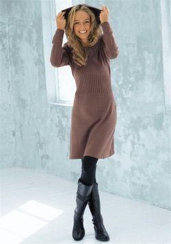 kao nosi toplo pletivo haljinu