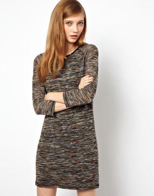 pletene haljina s kratkim rukavima