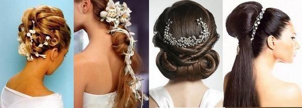 Выбираем свою свадебную прическу. Фото с сайта http://silky-hair.ru/