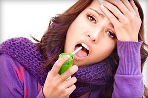 Выбираем самый эффективный и лучший спрей от боли в горле