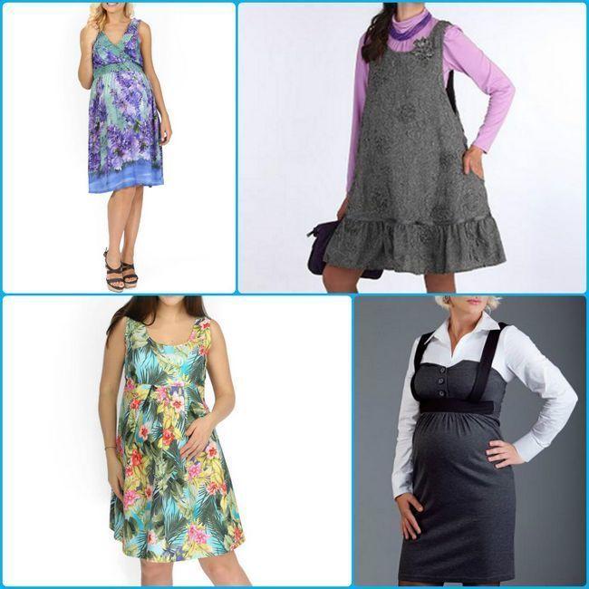 Sundresses za trudnice 2016