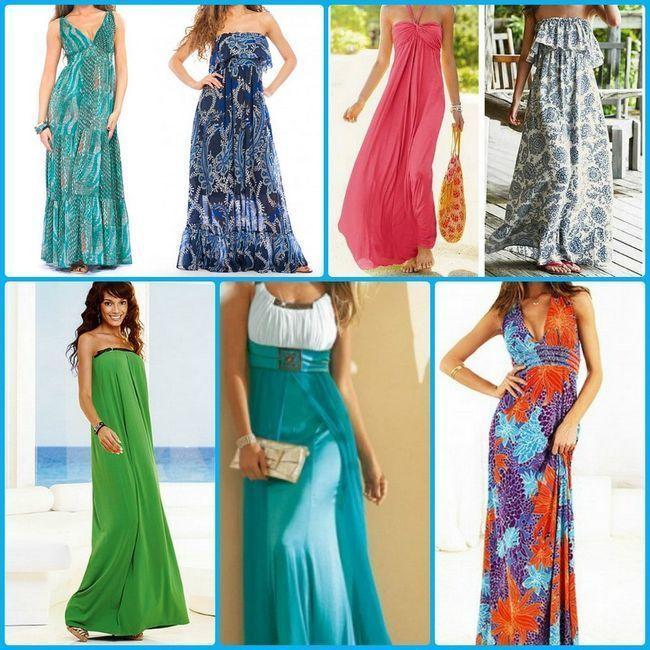 duge ljetne haljine do poda